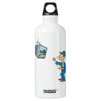 Betting Horses Water Bottle