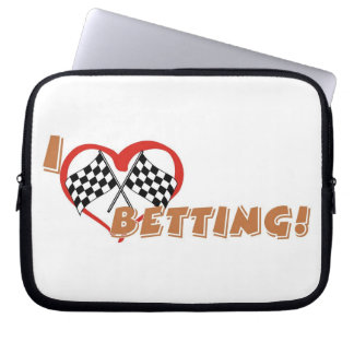 Betting Lover's laptop sleeves