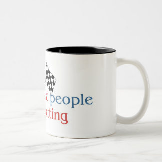 Betting Lover's two tone mug