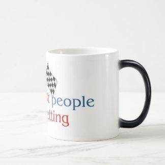 Betting morphing mug