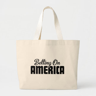 Betting On America Canvas Bags