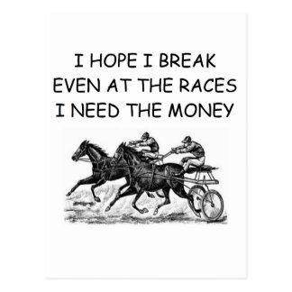 bettor's lamentation postcard