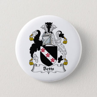 Betts Family Crest Button