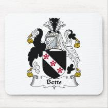 Betts Family Crest Mousepad