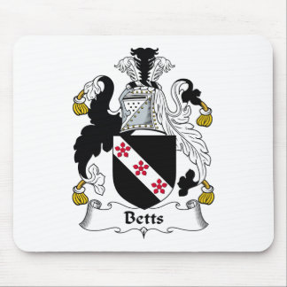 Betts Family Crest Mouse Pad