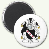 Betts Family Crest Magnet