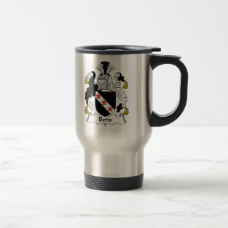 Betts Family Crest Travel Mug