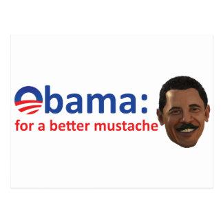 Bettter Mustache Postcard
