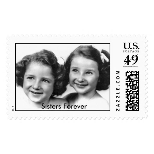 Betty And Kay Postage Stamp