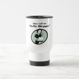 Betty Blogger Coffee Mugs