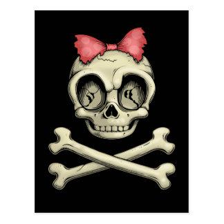 Betty Bones Postcard