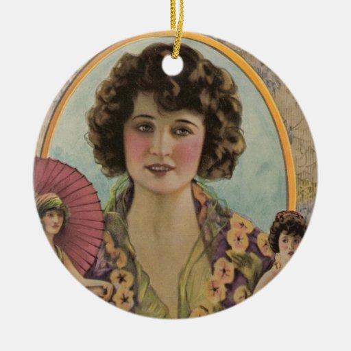 Betty Compson 1921 Ceramic Ornament