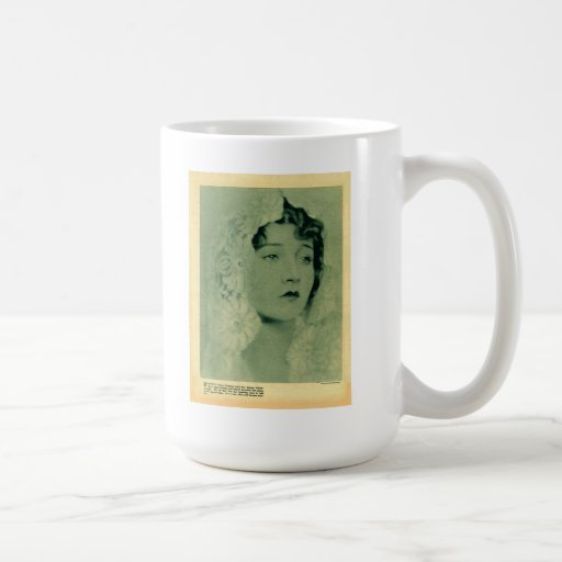 Betty Compson 1922 vintage portrait mug