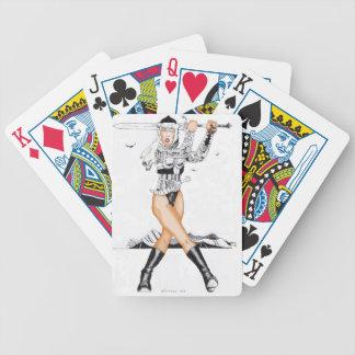 betty de los naipes de Arabia Baraja Cartas De Poker