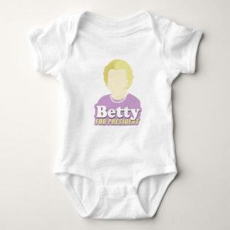 Betty for President Baby Bodysuit