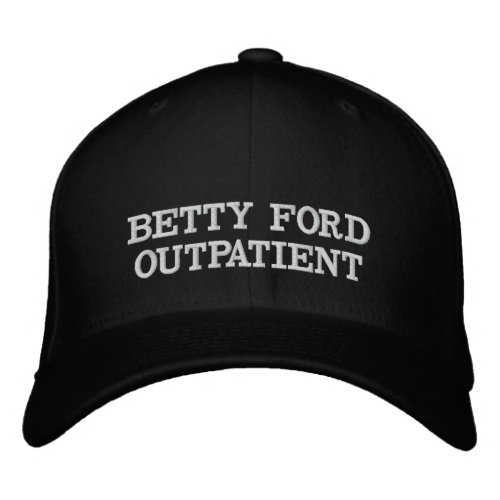 BETTY FORD OUTPATIENT HAT BLACK