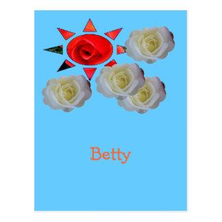 Betty Postcard