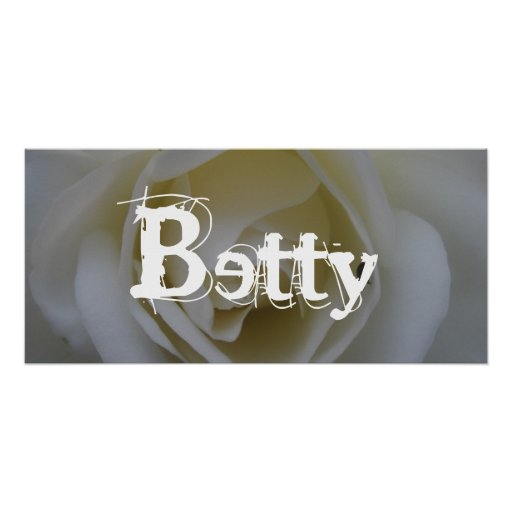 Betty Posters