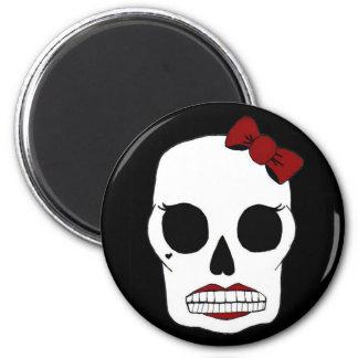 Betty Skull Magnet