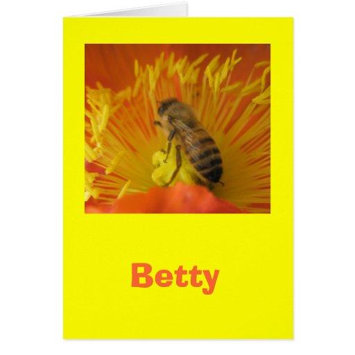 Betty Tarjeta