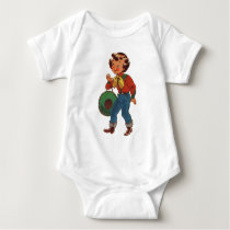 Betty the Cowgirl Baby Bodysuit