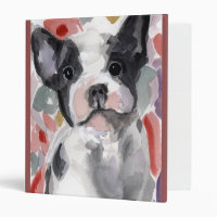 Betty the Dog School 3 Ring Notebook 3 Ring Binder