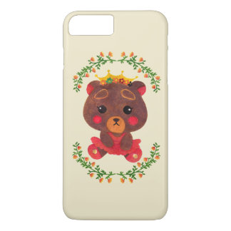 Betty the Little Bear Princess iPhone 8 Plus/7 Plus Case