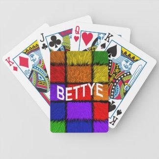 BETTYE BICYCLE PLAYING CARDS