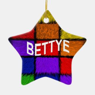 BETTYE CERAMIC ORNAMENT