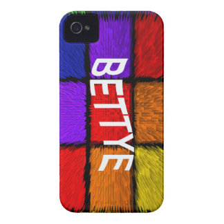 BETTYE iPhone 4 Case-Mate CASE