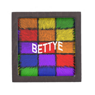 BETTYE JEWELRY BOX