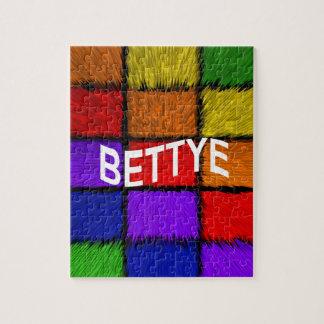 BETTYE PUZZLE