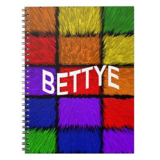 BETTYE SPIRAL NOTEBOOK