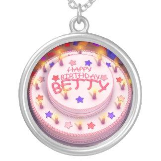 Betty's Birthday Cake Necklaces
