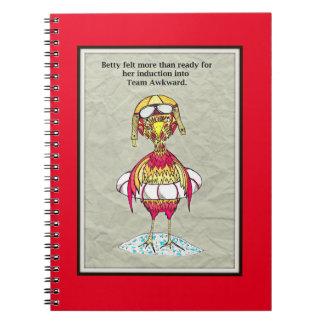 Betty's Team Awkward Notebook
