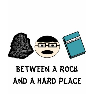 Between a Rock and a Hard Place Women's Tee shirt