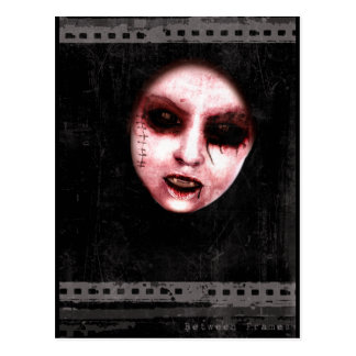 Between Frames Gothic Horror Postcard