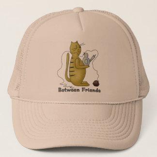 Between Friends Cat Trucker Hat