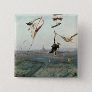 Between Heaven and Earth, 1862 Pinback Button