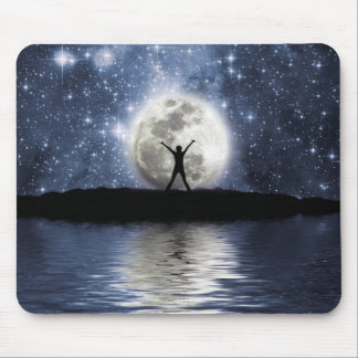 Between Heaven and Earth Mouse Pad
