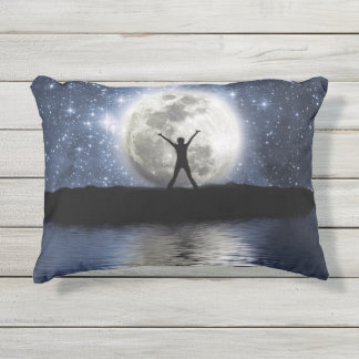 Between Heaven and Earth Outdoor Accent Pillow