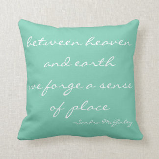 Between Heaven And Earth Throw Pillows