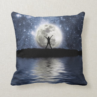 Between Heaven and Earth Throw Pillow