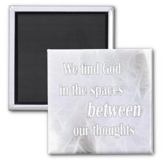 Between our Thoughts 2 Inch Square Magnet