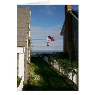 Between the cottages in Sconset Card
