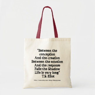 Between the emotion & the response... tote bag