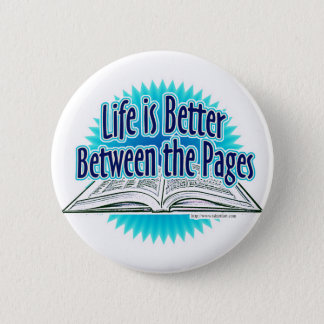 Between the Pages Blue Style Button