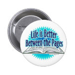 Between the Pages Blue Style Pin