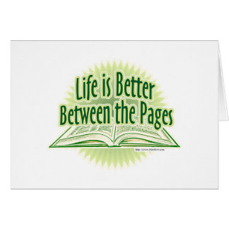 Between the Pages Green Style Card