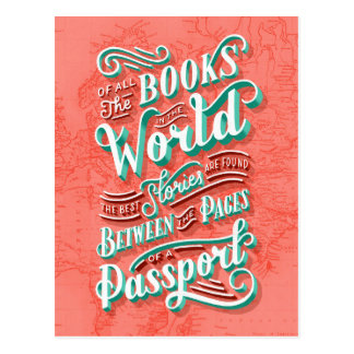 Between the Pages of a Passport Postcard